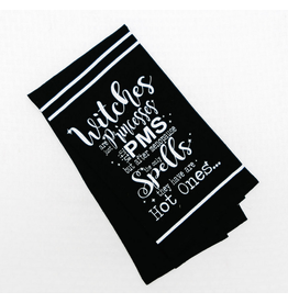 Adams & Co. Witches Are Just Princesses Tea Towel