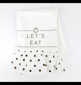 Adams & Co. Let's Eat Tea Towel
