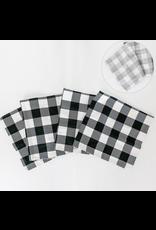 Adams & Co. Reversible Table Runner, Buffalo Check/White & Grey