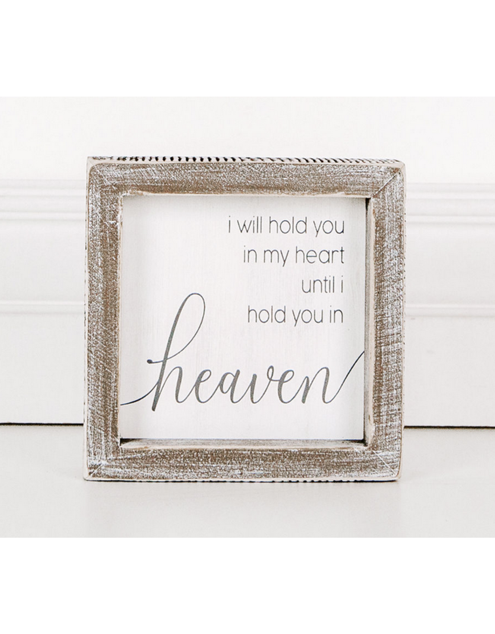 Adams & Co. I Will Hold You In My Heart Sign