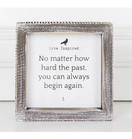 Adams & Co. You Can Always Begin Again