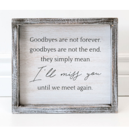 Adams & Co. Goodbyes are not forever