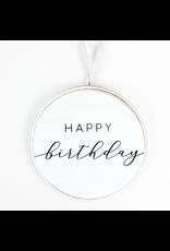Adams & Co. Happy Birthday Round