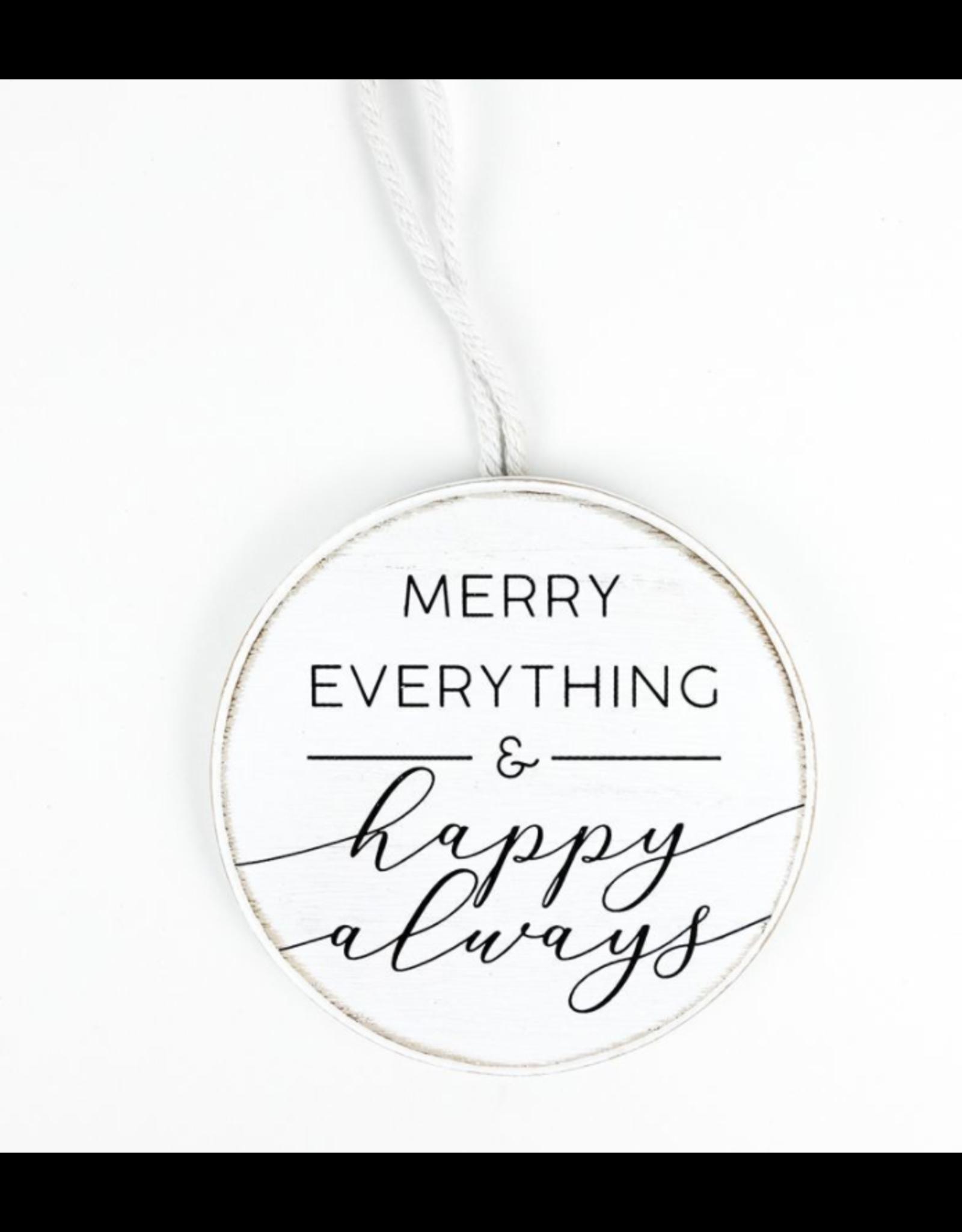 Adams & Co. Merry Everything Round