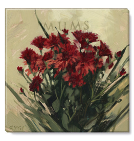 Sullivans Red Mums Artwork 5x5