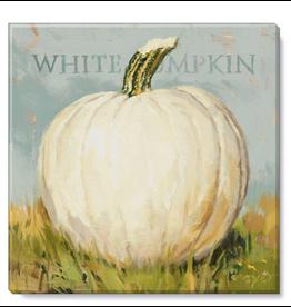 Sullivans White Pumpkin Artwork 5x5