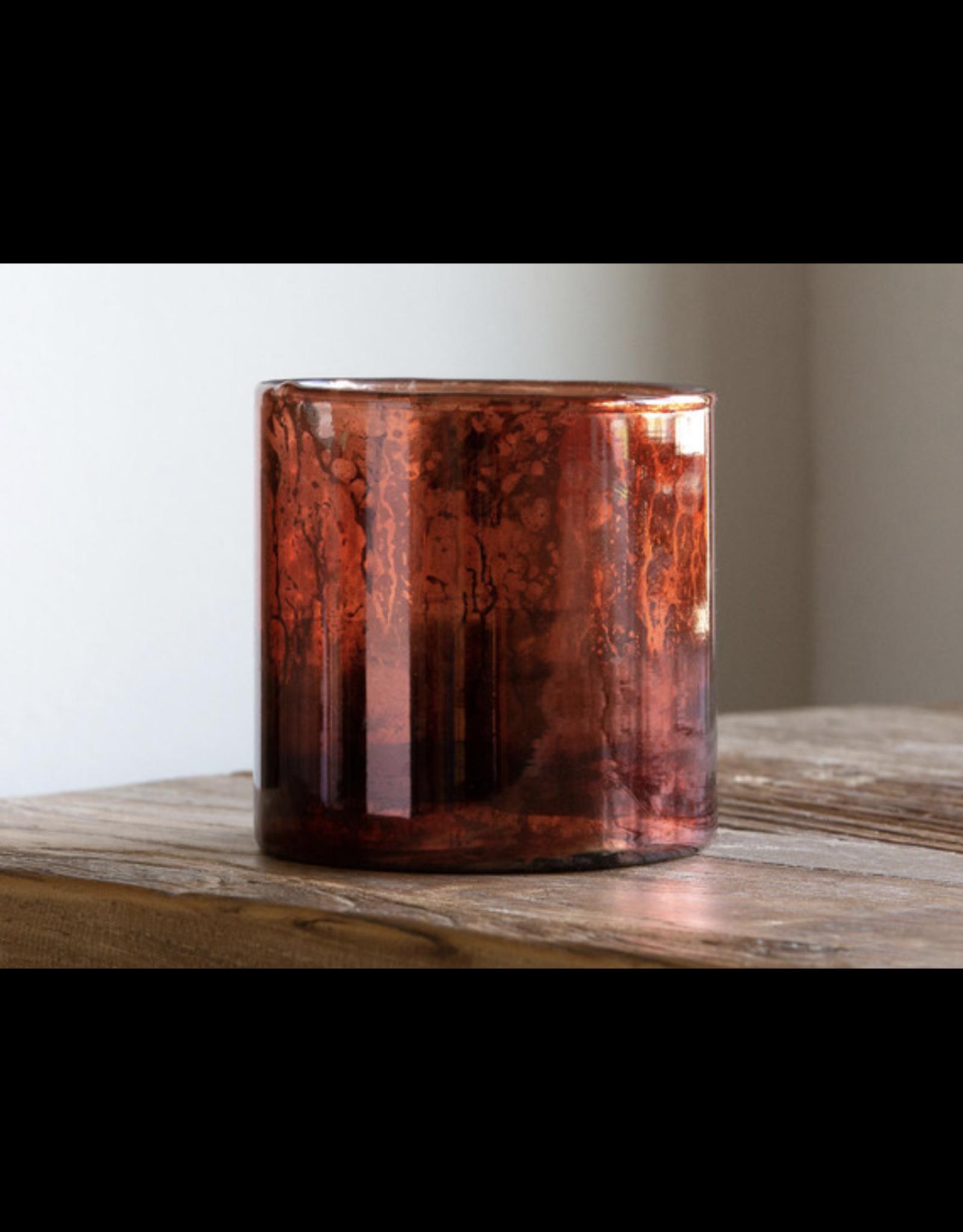 Park Hill Antique Mercury Glass Hurricane, Small