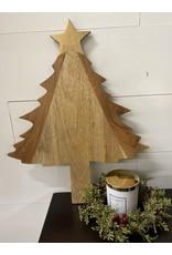 Thirstystone Tree Shaped Wood Board