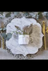 Creative Brands White & Grey Marble Board