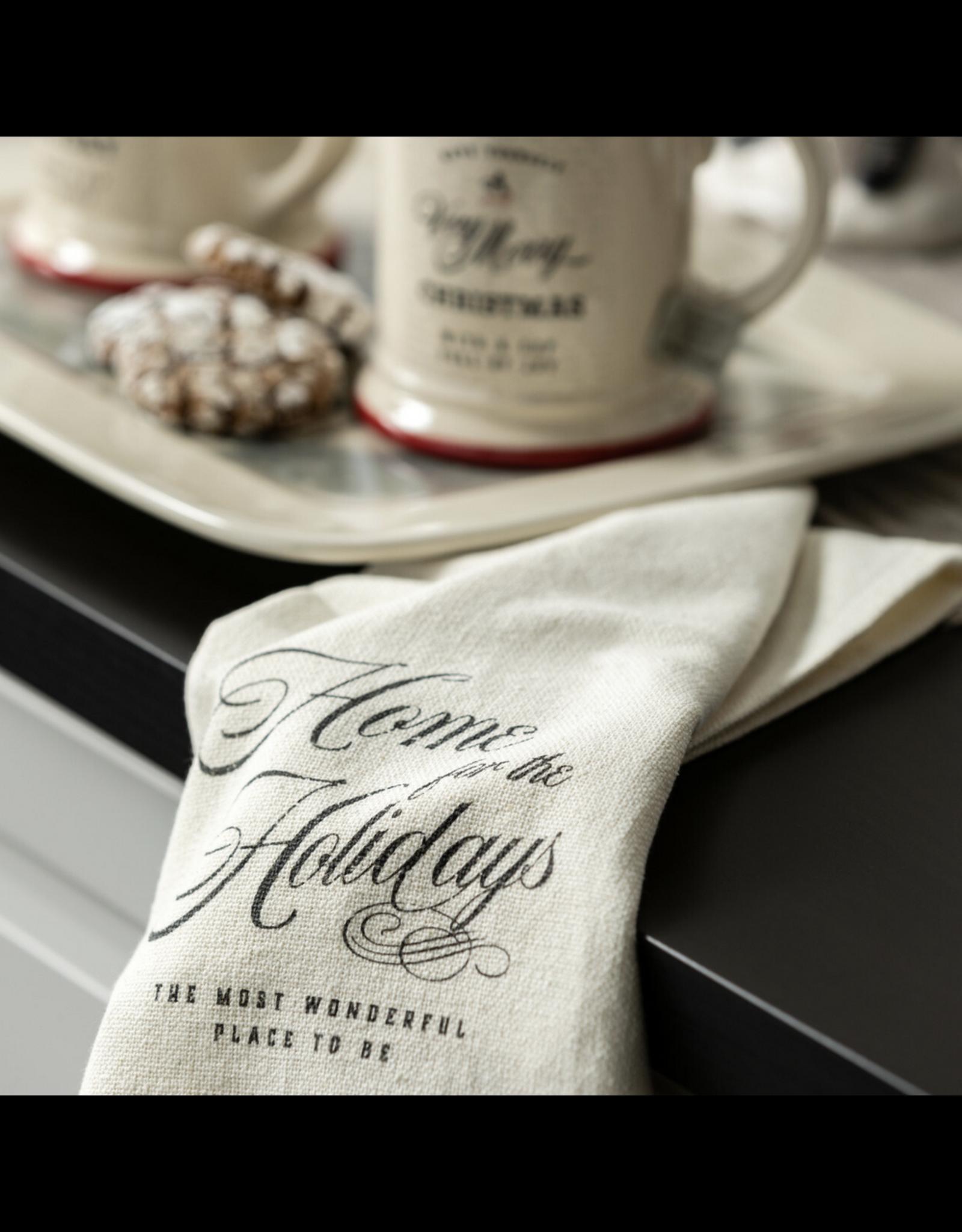 Demdaco Season of Joy Tea Towel, Set of 2