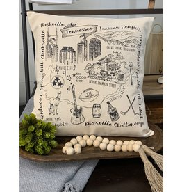 Eric & Christopher Custom City Pillow