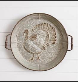 Audrey's Embossed Turkey Tray