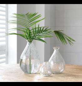 Park Hill Dylan Organic Seeded Glass Vase