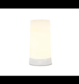 Melrose LED White Flame Candle