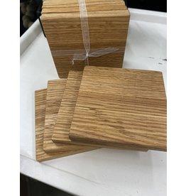 BIDK Wooden Coasters Set (includes engraving)