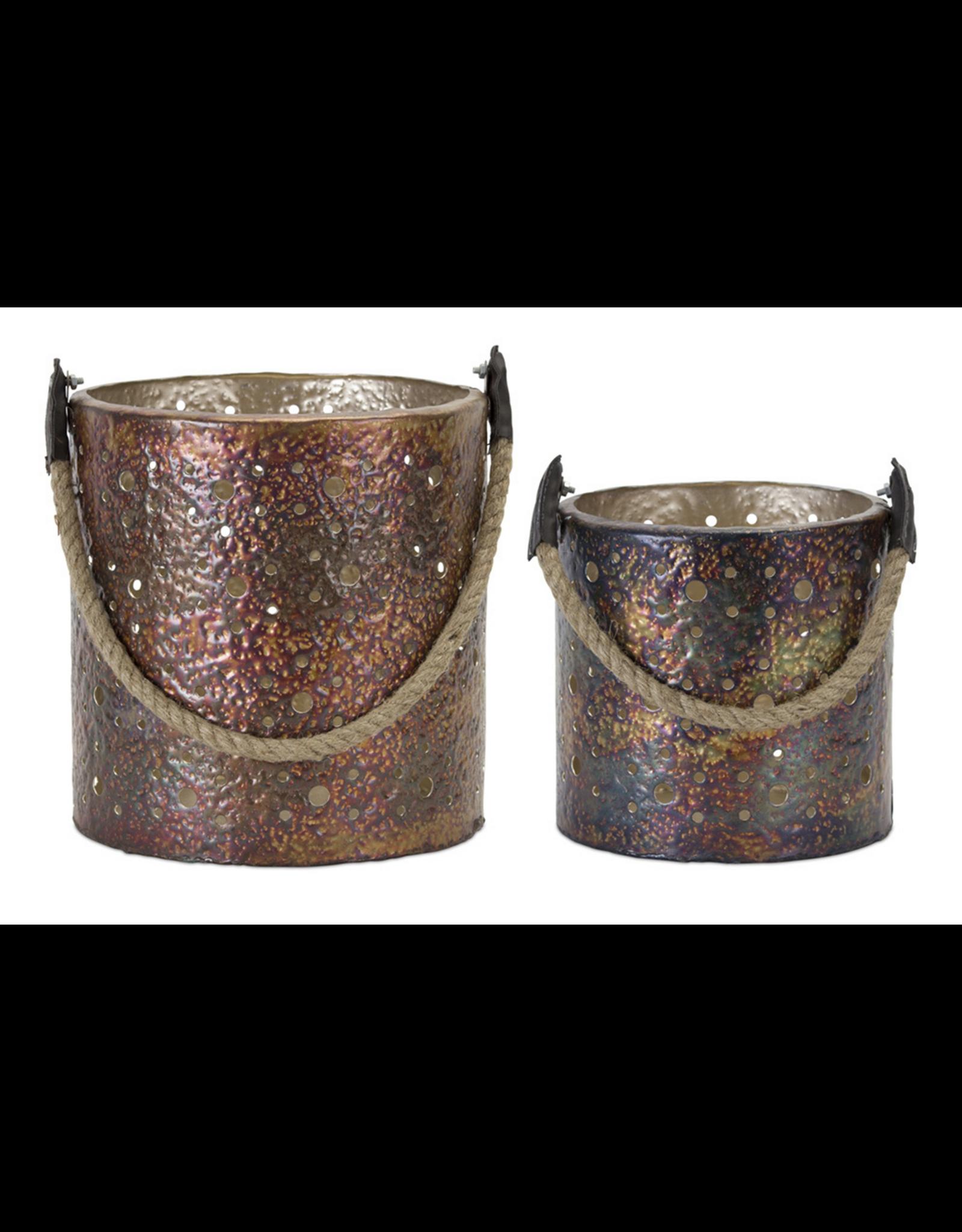 Melrose Copper Lantern Large
