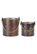 Melrose Copper Lantern Small