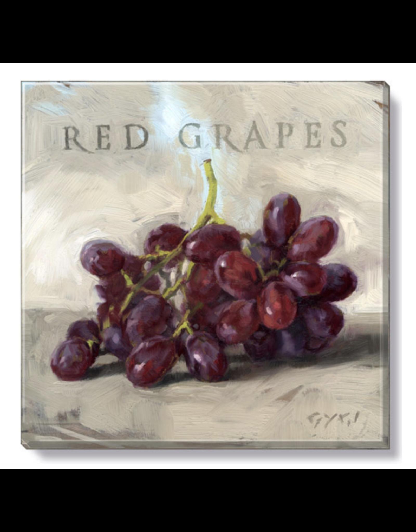 Sullivans Red Grape Wall Art 5 x 5