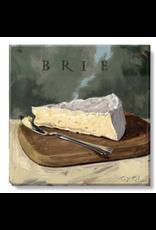 Sullivans Brie Cheese Wall Art 5 x 5