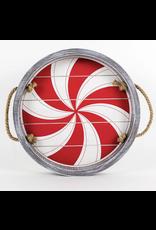 Adams & Co. Peppermint Shiplap Tray