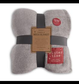 Demdaco Winter Time Family Mega Blanket