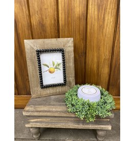 Creative Co-Op Natural Beaded Frame 4 x 6