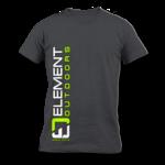 Element Outdoors EO Vertical Logo Tee