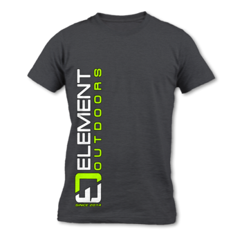 Element Outdoors EO Vertical Logo Tee