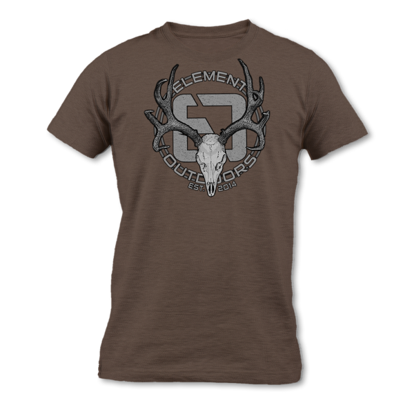 Element Outdoors EO Whitetail Skull Tee