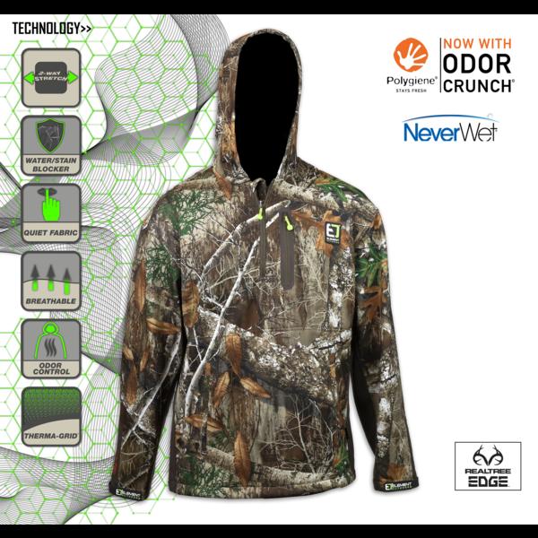 Youth Prime Series Quarter Zip Jacket