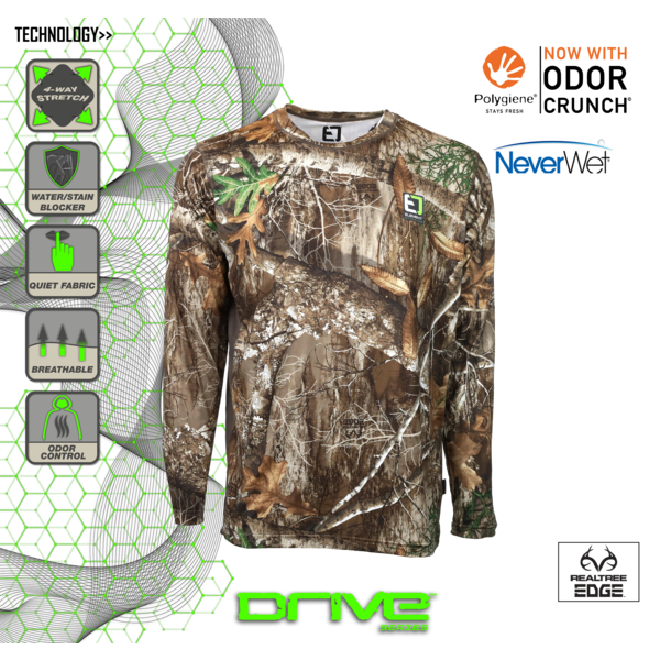 Youth Drive Series Long Sleeve Shirt