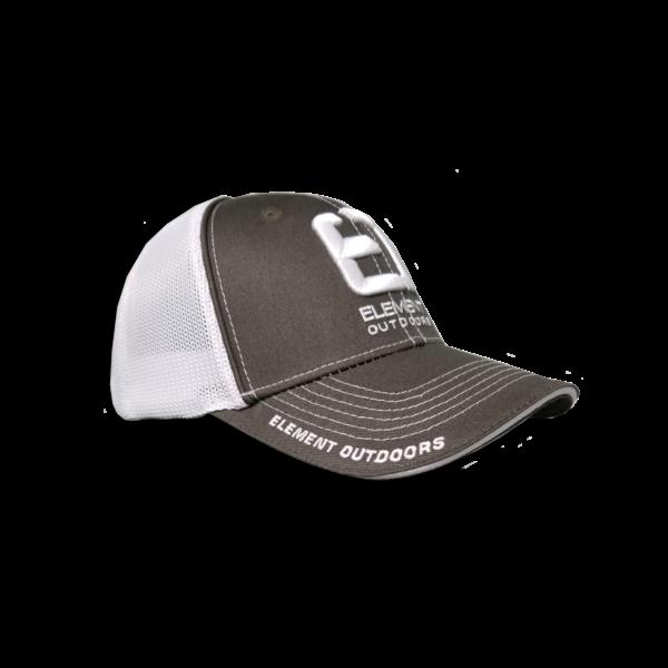 Drive Series Mesh Back Cap White/Grey