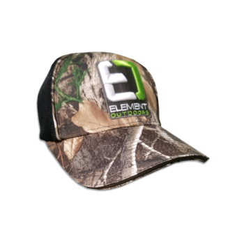 Drive Series Black Mesh Back Cap Realtree-Edge