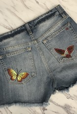 Miss Me Embroidered Short