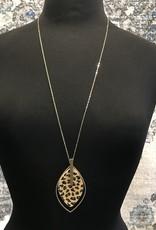 WHJ Necklace Leopard/Gold