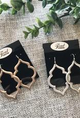 Earrings Quatrefoil