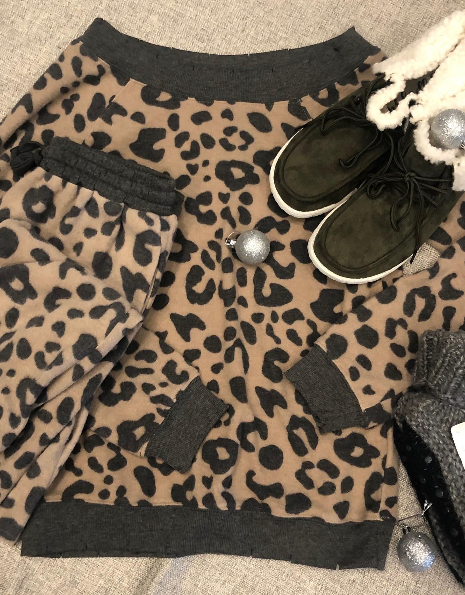 Leopard Lounge Set