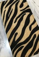 Animal Print Zipper Wallet