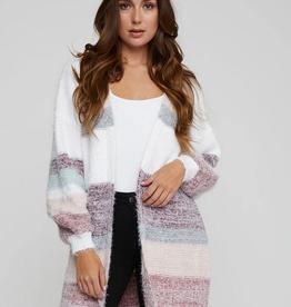 Gentle Fawn Ashworth Multistripe Cardigan Sweater