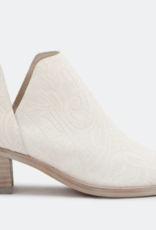 Dolce Vita White Embossed White Leather Boot