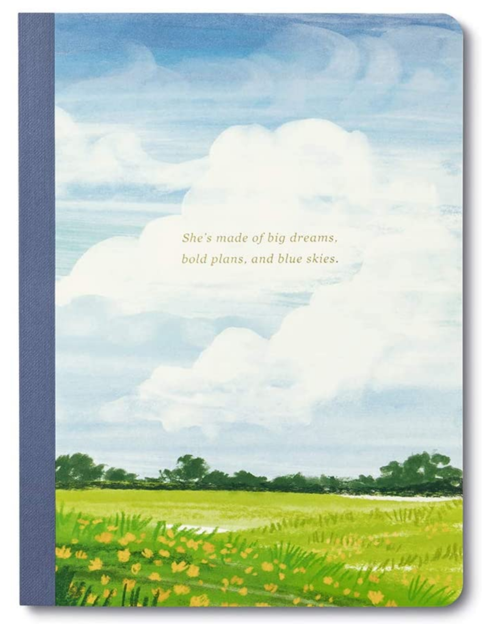 Compendium Her Words - She's made of big dreams, bold plans, and blue skies notebook