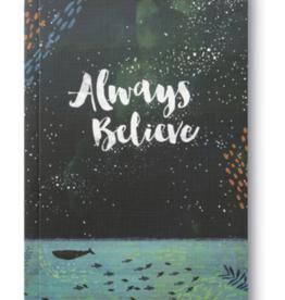 Compendium Notebook-Always Believe