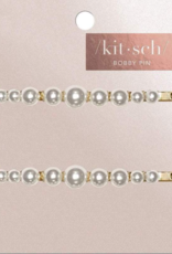 Kitsch 2pc Pearl Bobby Pins