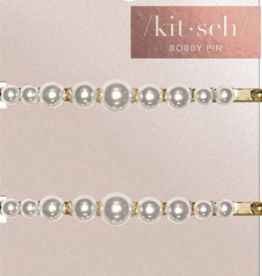 Kitsch 2pc Pearl Bobby Pins