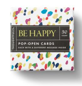 Compendium Compendium Thoughtfuls Be Happy Pop Open Cards