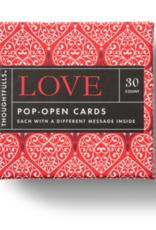 Compendium Compendium Thoughtfuls Love Pop Open Cards