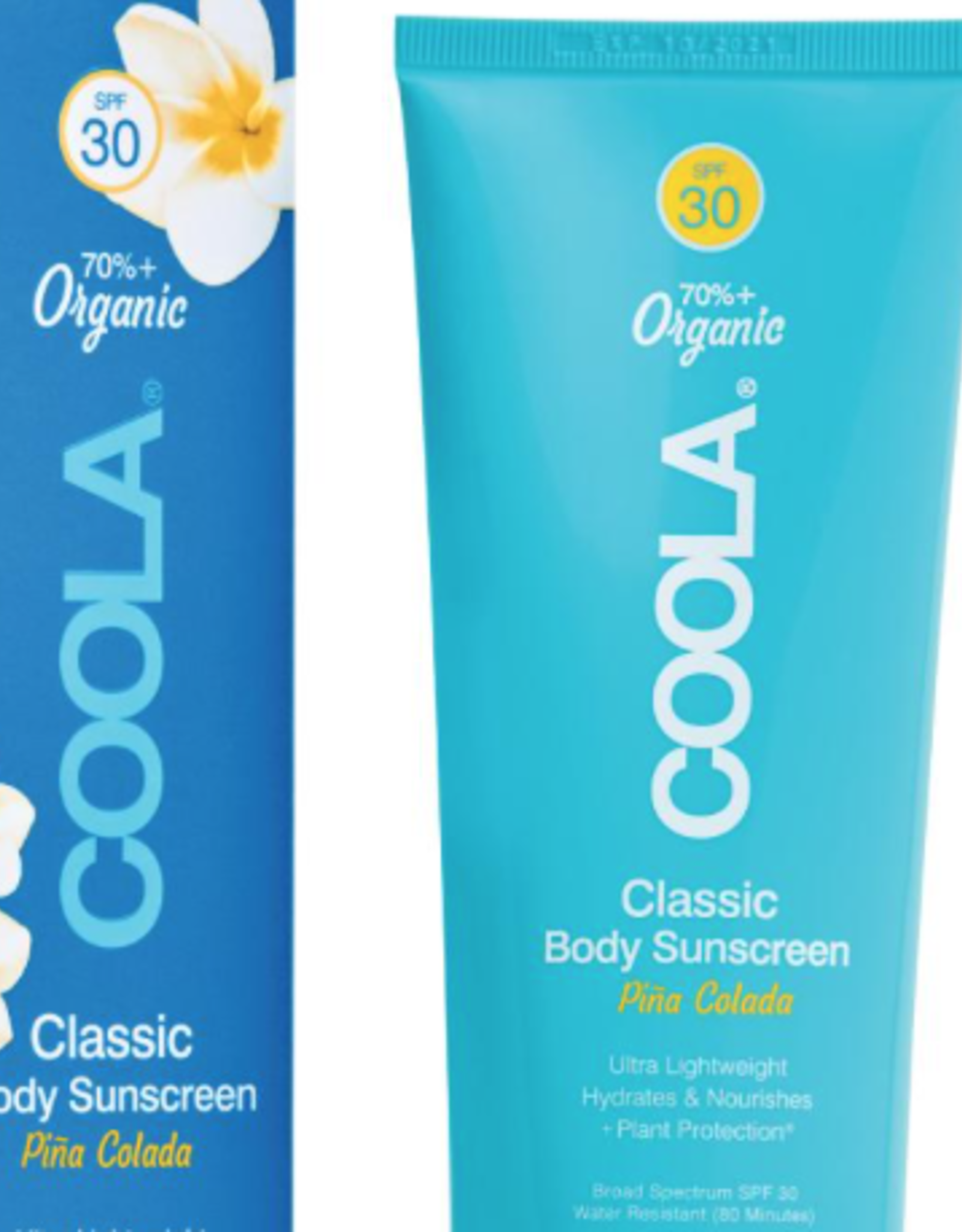 Coola Classic Body Sunscreen PIna Colada