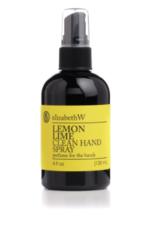 elizabeth W Clean Hand Spray Lemon lime