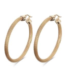 Jonesy Wood Harlow Hoop Earring Gold
