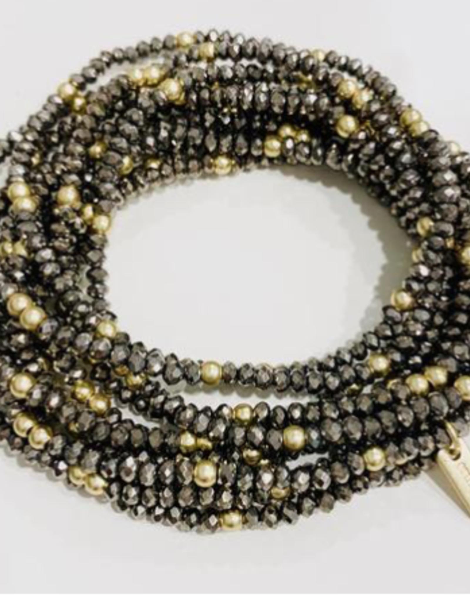 Erin Gray Disco Bracelet Stack of 11